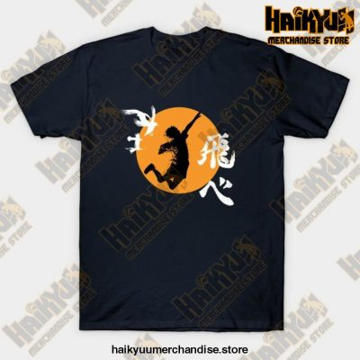 Haikyuu Karasuno - Hinata Smash T-Shirt Navy Blue / S