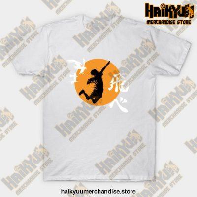 Haikyuu Karasuno - Hinata Smash T-Shirt White / S