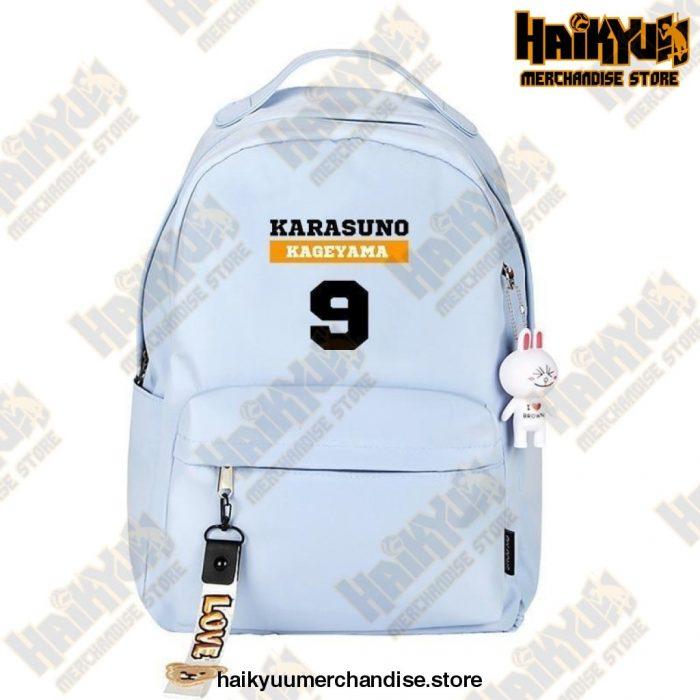 Blue Official Haikyuu Backpack Merch