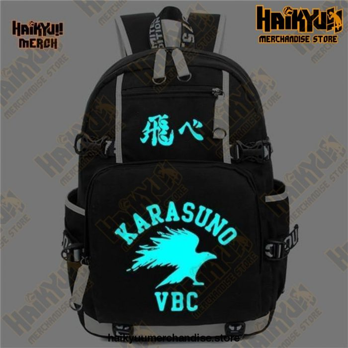 Black (LED) Official Haikyuu Backpack Merch
