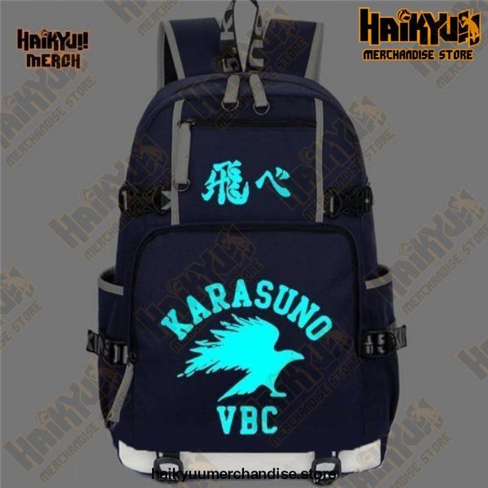 Blue (Led) Official Haikyuu Backpack Merch