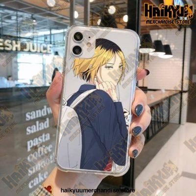 Haikyuu Kenma Kozume Transparent Case For Iphone