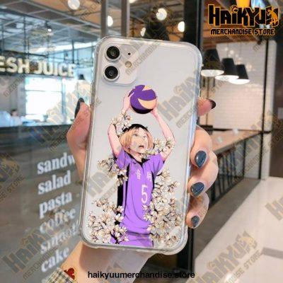 Haikyuu Kenma Kozume Transparent Case For Iphone Style 3 / Iphone5 Se 5S