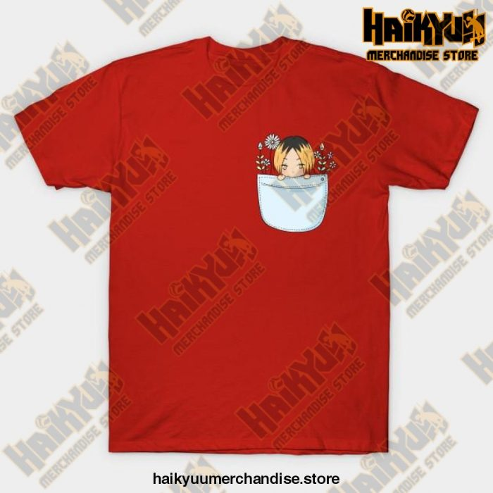 Haikyuu Kenma T-Shirt Red / S