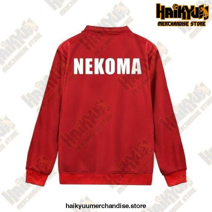 Haikyuu Jacket  Nekoma Volleyball Team M Official Haikyuu Jacket Merch