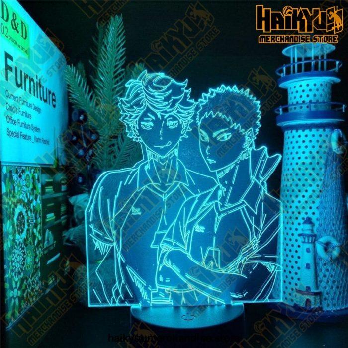 Haikyuu Oikawa Tooru Hajime Iwaizumi 3D Led Lamp