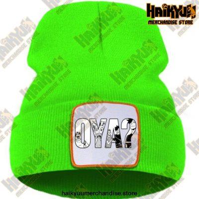 Haikyuu Oya Anime Cool Print Beanie Green / China One Size