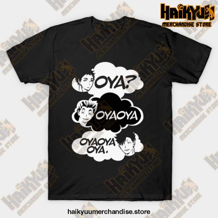 Haikyuu Oya Oya! T-Shirt Black / S
