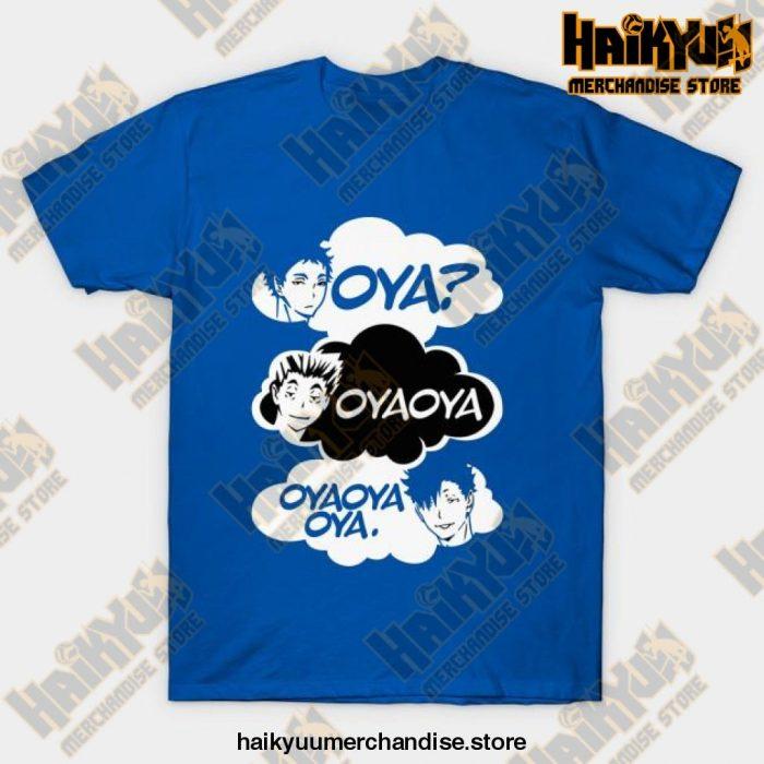 Haikyuu Oya Oya! T-Shirt Blue / S