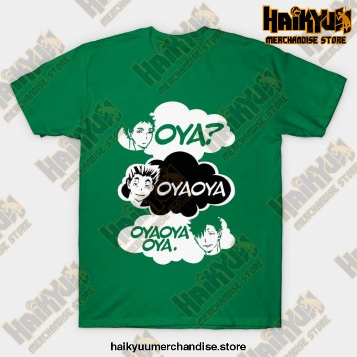 Haikyuu Oya Oya! T-Shirt Green / S