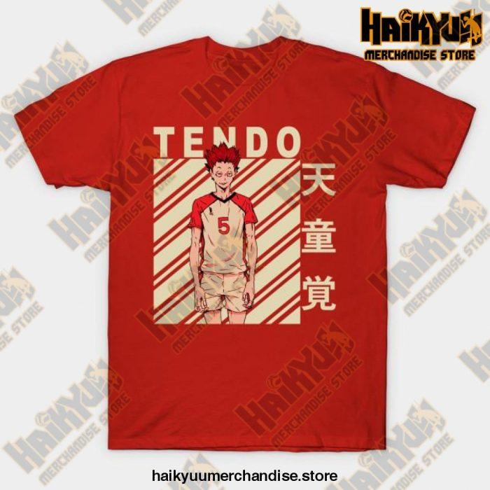 Haikyuu Satori Tendo T-Shirt Red / S