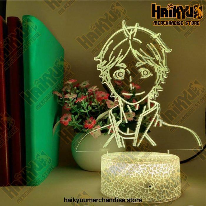 Haikyuu Sugawara Led Illusion Night Lights 3D Anime Lamp