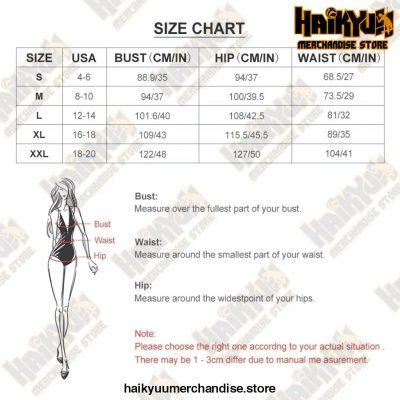 Haikyuu Swimsuit High Leg Vintage 1-Piece Bathing Suit
