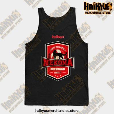 Haikyuu Team Nekoma Tank Top Black / S