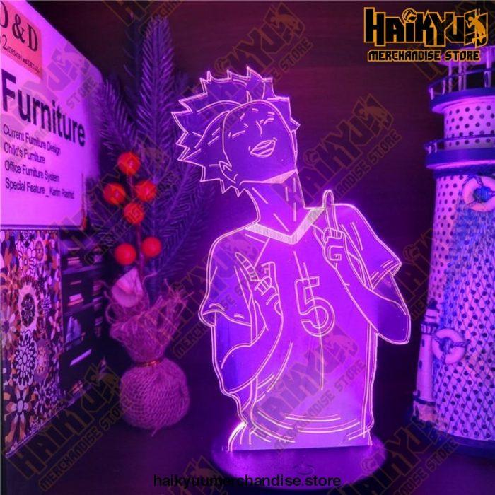 Haikyuu Tendou Satori Color Changing Lamp