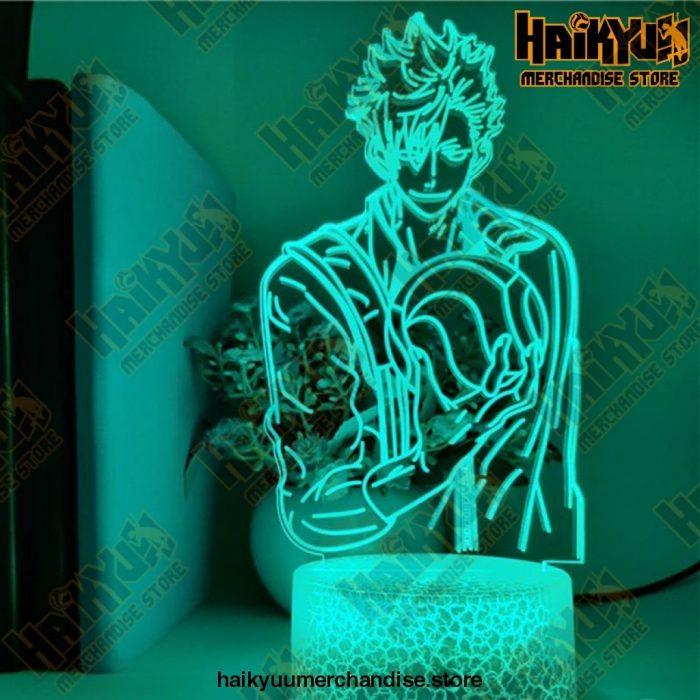 Haikyuu Tetsuro Kuroo Led 3D Anime Night Lights