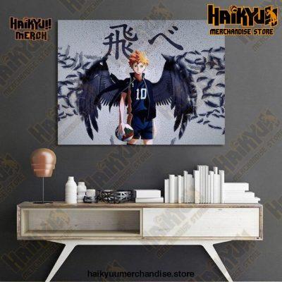 Haikyuu Wall Art  Little Giant 21x30cm  No Frame Official Haikyuu Canvas Merch