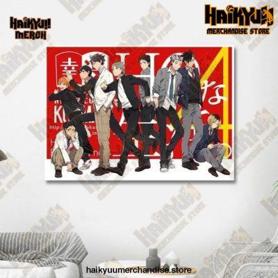Haikyuu Wall Art  New Year 13x18cm  No Frame Official Haikyuu Canvas Merch