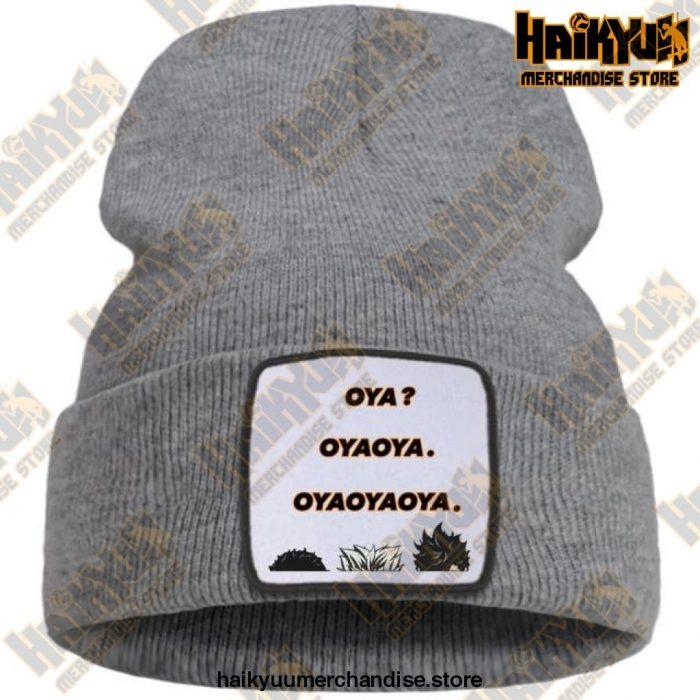 Hat Haikyuu Oya New Anime Beanie Gray / China One Size