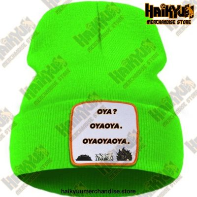 Hat Haikyuu Oya New Anime Beanie Green / China One Size