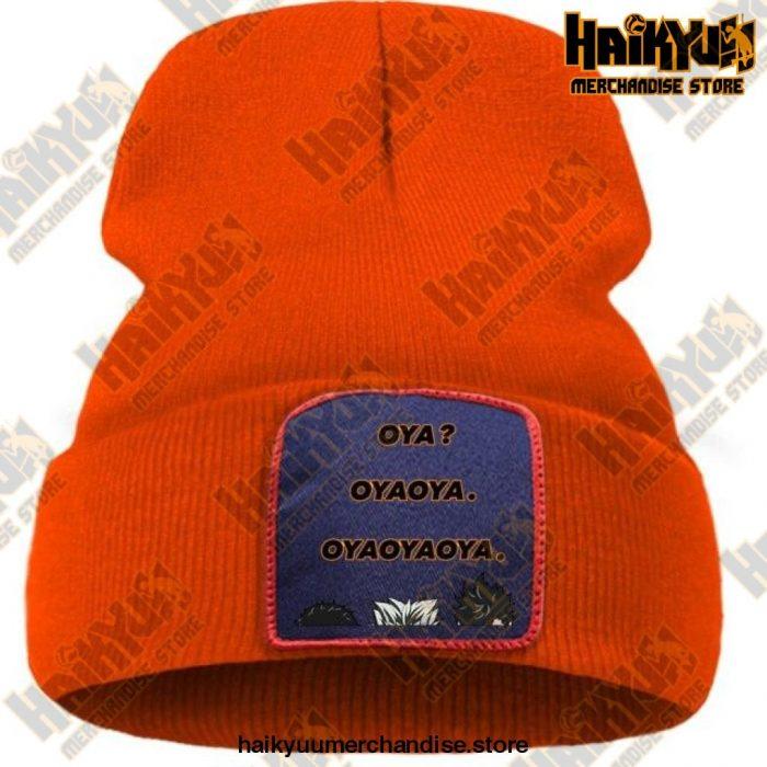 Hat Haikyuu Oya New Anime Beanie Orange / China One Size