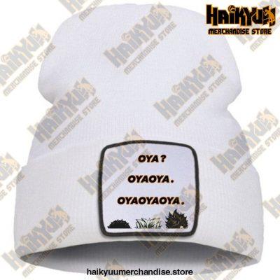 Hat Haikyuu Oya New Anime Beanie White / China One Size