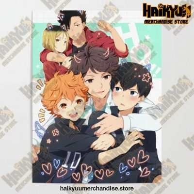 Hd Canvas Pictures Haikyuu Home Decoration 21X30Cm No Frame / Nordic Jx3297-07