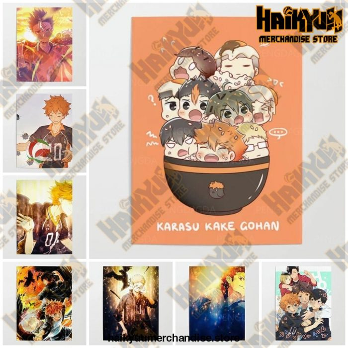 Hd Canvas Pictures Haikyuu Home Decoration