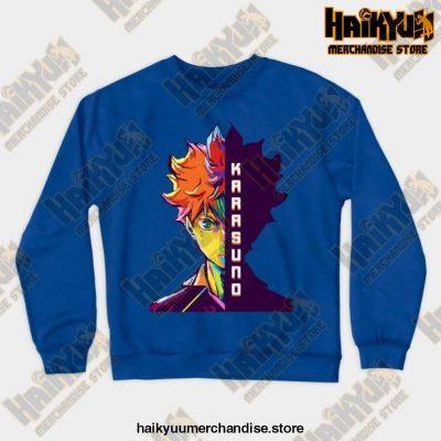 Hitana Shoyo Crewneck Sweatshirt Blue / S