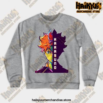 Hitana Shoyo Crewneck Sweatshirt Gray / S