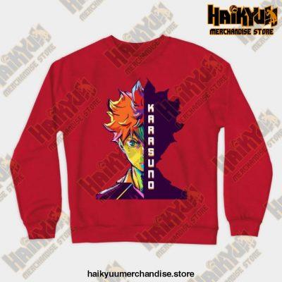 Hitana Shoyo Crewneck Sweatshirt Red / S