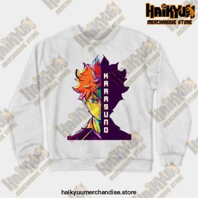 Hitana Shoyo Crewneck Sweatshirt White / S
