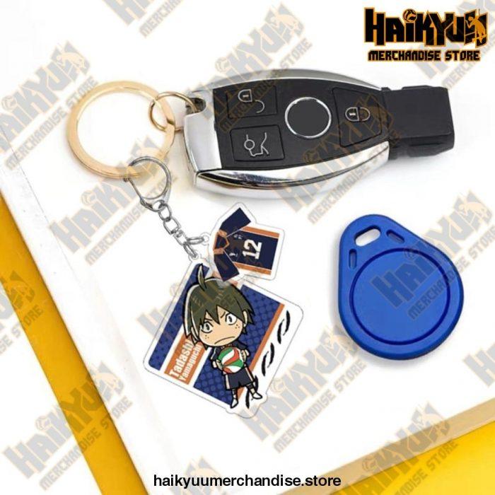 Japan Haikyuu!! Acrylic Metal Keychain