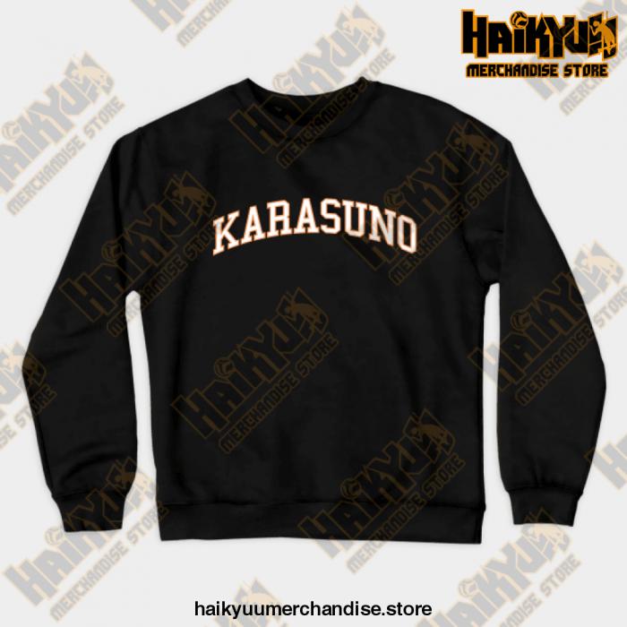 Karasuno Haikyuu Sweatshirt Black / S
