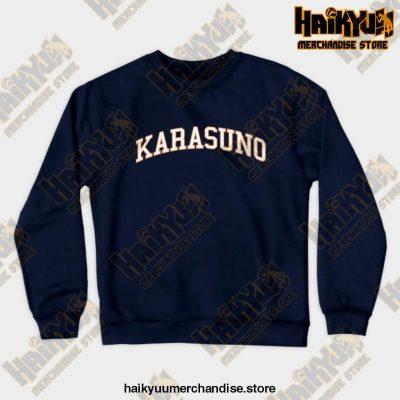 Karasuno Haikyuu Sweatshirt Navy Blue / S