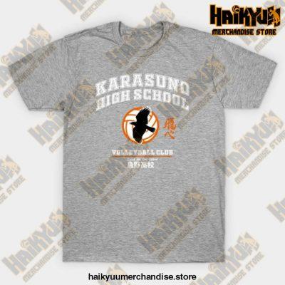 Karasuno High 2021 T-Shirt Gray / S