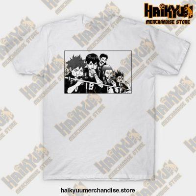 Karasuno T-Shirt Design White / S
