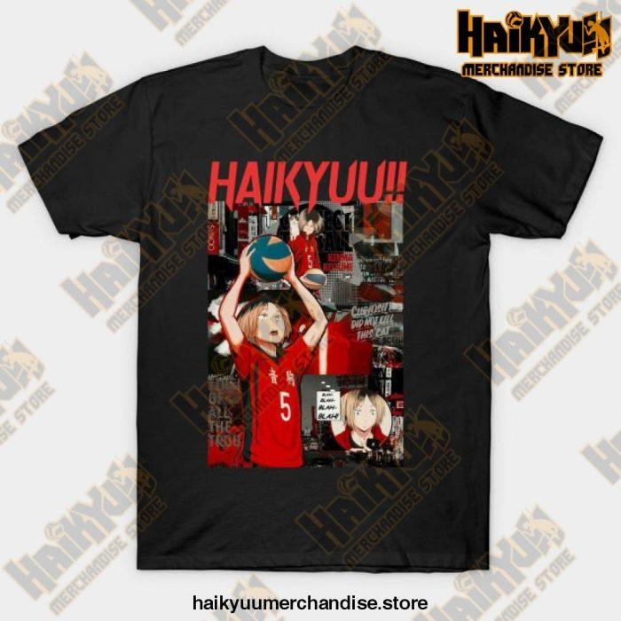 Kenma Kozume Haikyuu T-Shirt Black / S