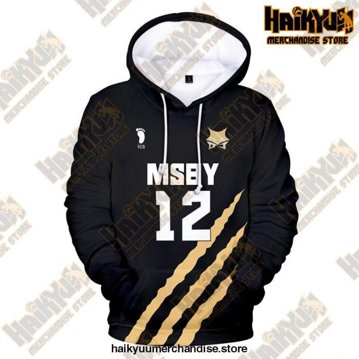 Msby Black Jackal Cosplay Hoodie 12 / S