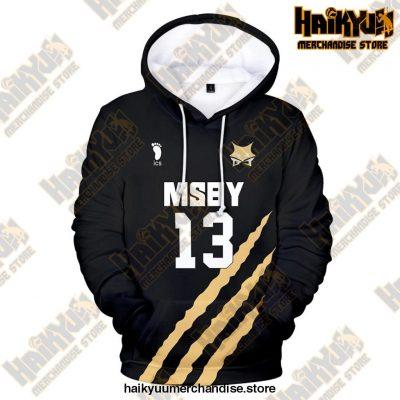 Msby Black Jackal Cosplay Hoodie 13 / S
