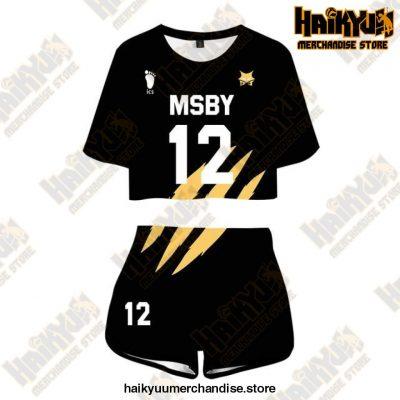 Msby Black Jackal Cosplay Sportswear Jerseys Uniform 12 / M