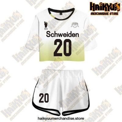 Msby Black Jackal Cosplay Sportswear Jerseys Uniform Schweiden 20 / M