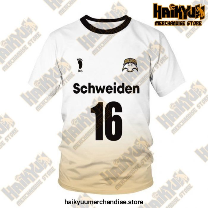 Msby Black Jackal Cosplay T-Shirt 16 / Xl