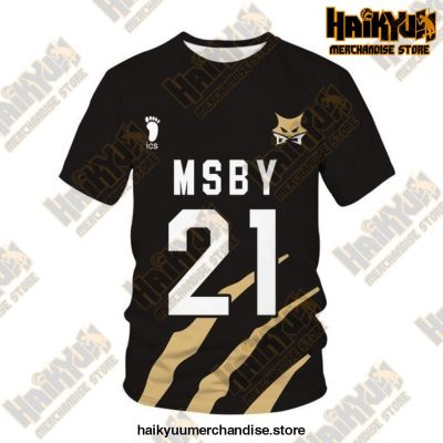 Msby Black Jackal Cosplay T-Shirt 21 / M