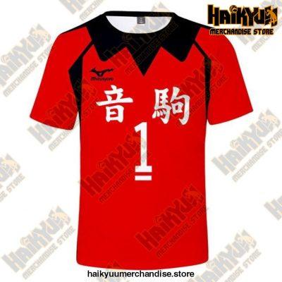 Nekoma High Cosplay T-Shirt 1 / 5Xl