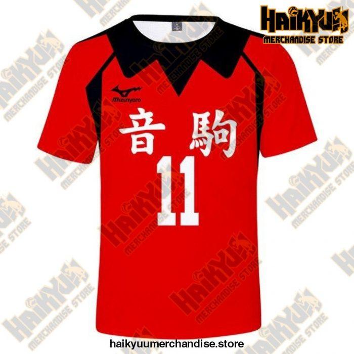 Nekoma High Cosplay T-Shirt 11 / 5Xl