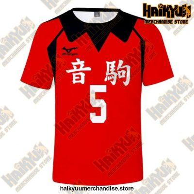 Nekoma High Cosplay T-Shirt 5 / 5Xl