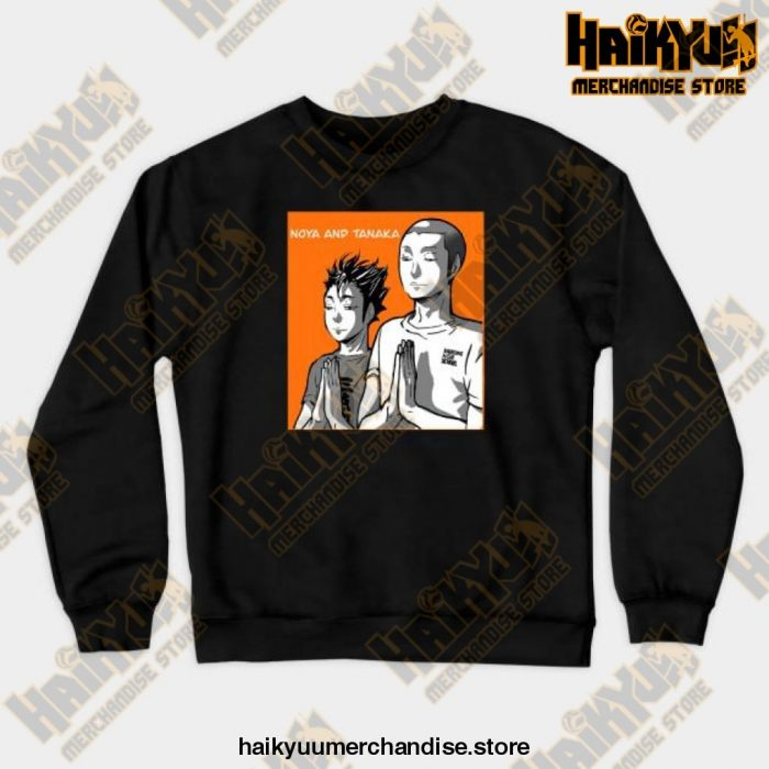 Noya Tanaka Prayer Crewneck Sweatshirt Black / S