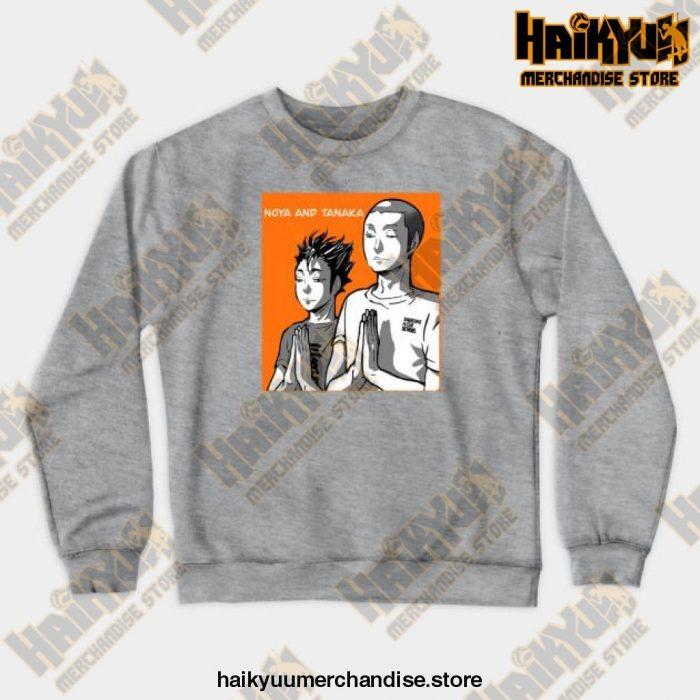 Noya Tanaka Prayer Crewneck Sweatshirt Gray / S
