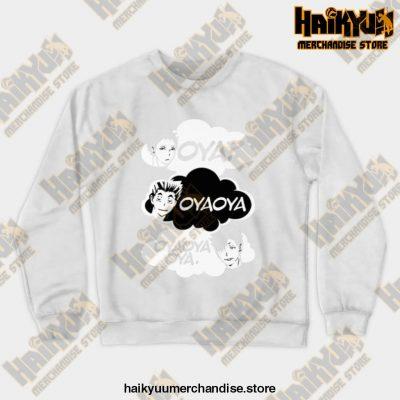 Oya Oya! Crewneck Sweatshirt White / S